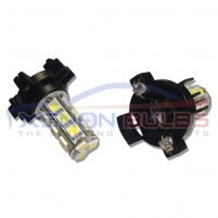 PY24W 18 SMD LED Indicator bulbs WHITE..