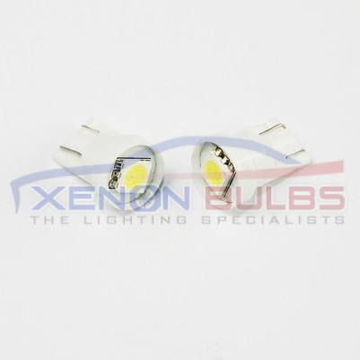 1 SMD White Xenon Side Light HID 501-W5W-T10-5050