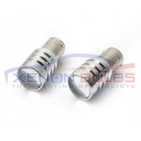 2 x 10W CREE WHITE 1156 LED P21W S25..