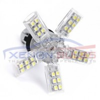 1156 40SMD Spider Xenon White LED bulbs..