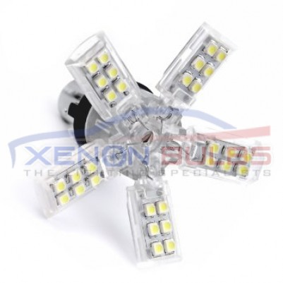1156 40SMD Spider Xenon White LED bulbs