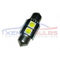 2x 31mm 2 SMD LED White..