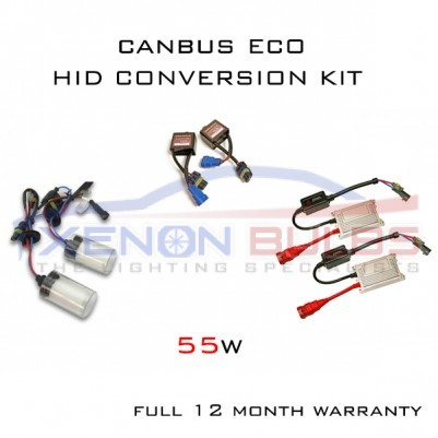 H7R 55w CANBUS ECO MIDI HID XENON CONVERSION KIT ANTI-GLARE