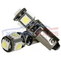 BAX9S H6w 5 SMD CANBUS ERROR FREE..