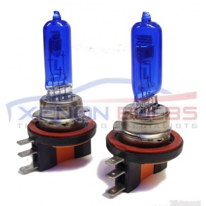 H15 6000K XENON ICE WHITE Halogen look Bulbs Daytime Light High Beam