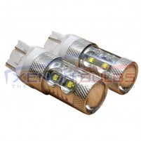 T20 50W CREE LED DRL 7443 Daytime Running Lights Stop Tail..
