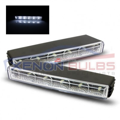 Universal LED Daytime Running Lights - 5 LED 22.5cm