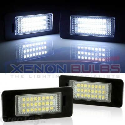 BMW 18 SMD NUMBER PLATE LIGHT UNIT E90 92 93 E70 E71 E60 61 E82 88