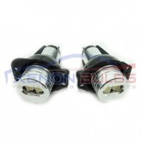 Pre LCI 05-07 10w BMW E90 E91 LED Angel Eyes upgrade bulbs kit..