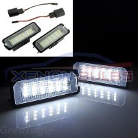 VW GOLF MARK 4/5/6/7 18 SMD NUMBER PLATE LIGHT UNIT..