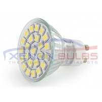 4W 24 SMD GU10 LED Bulb, 40W Halogen Lamp Equivalent Day White..