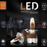 INTEL LED CAR HEADLIGHT BULBS KIT WHITE H7 H4 H1 H3 H11 HB4 9006..