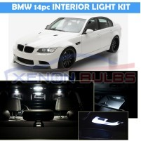 BMW 14 PC E60 E90 E91 LED INTERIOR KIT..