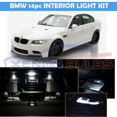 BMW 14 PC E60 E90 E91 LED INTERIOR KIT