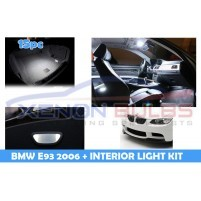 BMW 15 PC E93 WHITE LED INTERIOR KIT..