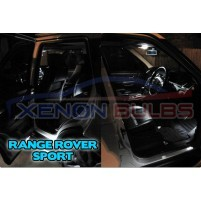12 x RANGE ROVER SPORT 05-13 LED INTERIOR LIGHT KIT WHITE..