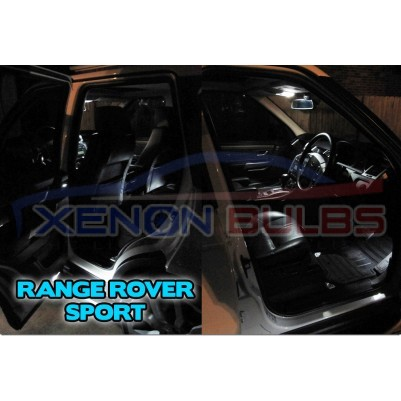 12 x RANGE ROVER SPORT 05-13 LED INTERIOR LIGHT KIT WHITE