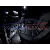 BMW X5 E53 WHITE LED INTERIOR KIT 2001 -2006..