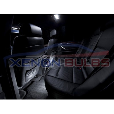 BMW X5 E53 WHITE LED INTERIOR KIT 2001 -2006