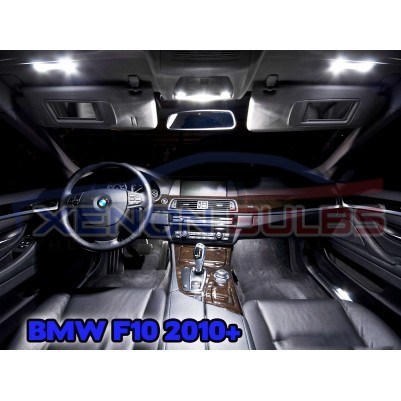 BMW 18 PC 5 SERIES F10 WHITE LED INTERIOR KIT