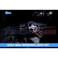 VW GOLF 10 PC MK5 MK6 LED INTERIOR KIT..