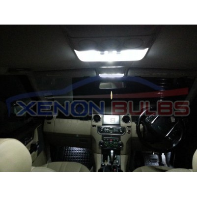 RANGE ROVER 18 PC VOGUE L322 LED INTERIOR KIT WHITE