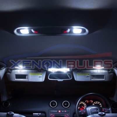 AUDI 19 PC Q7 WHITE LED INTERIOR KIT