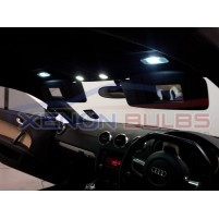 Audi TT MK2 LED Interior Lights Bulbs Kit XENON WHITE..