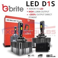 2X M10X LED D1S UPGRADE KIT FOR XENON REPLACEMENT ..
