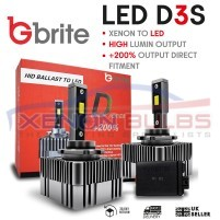 2X M10X LED D3S UPGRADE KIT FOR XENON REPLACEMENT ..