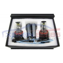 H8 20W CREE BMW LED ANGEL EYES MARKER RINGS..