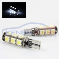 13 SMD T10/501/W5W LED BULBS - PAIR canbus..
