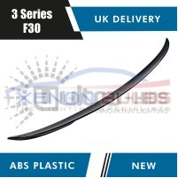 1x REAR TRUNK BOOT SPOILER GLOSS BLACK for BMW 3 SERIES F30 M PERFORMA..