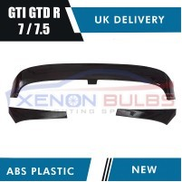 CLUBSPORT GLOSS BLACK REAR ROOF SPOILER for VW GOLF 7 & 7.5 R GTD GTI ..