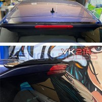 VW GOLF 7 & 7.5 STANDARD GLOSS BLACK REAR ROOF SPOILER (2013-2019)..