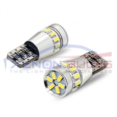 18 SMD T10/501/W5W LED BULBS PAIR CANBUS