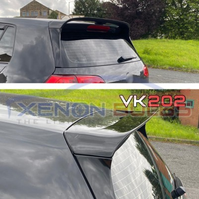 CLUBSPORT GLOSS BLACK REAR ROOF SPOILER for VW GOLF 7 & 7.5 STANDARD (2013-2018)