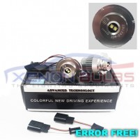 12w LED E60 E61 LCI XENON WHITE LED ANGEL EYE BULB..