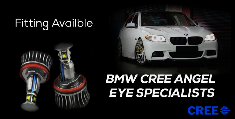 BMW CREE ANGEL  EYE SPECIALISTS