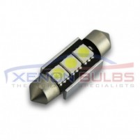 36MM FESTOON BULBS LED 3SMD CANBUS ERROR FREE..