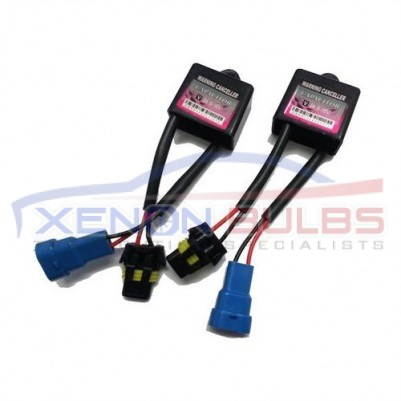 PAIR OF XENON HID BULB WARNING CANCELLERS RESISTORS CANBUS