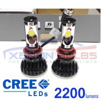 H11 Pair 2200LM 5000K 24W CREE CXA 1512 LED Car Headlight Bulb Lamp 10..