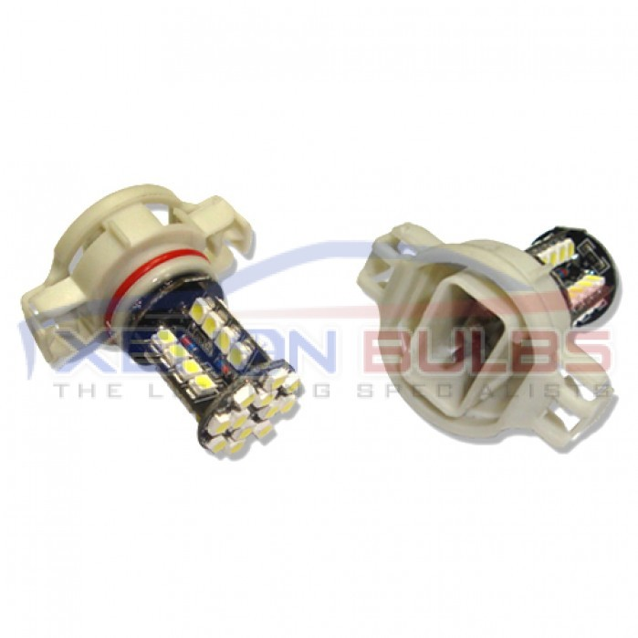 44 Smd Ps19w Audi A3 Led White Drl Sidelight Bulb H16 5202 Psx24w 9009
