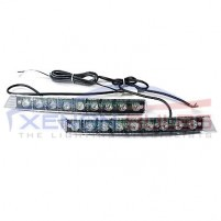 9 LED Daytime Running Lights DRL 6000k white unit grill..