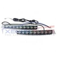 9 LED Daytime Running Lights DRL 6000k white unit grill..