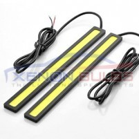 White Super Powerful COB DRL DAYTIME RUNNING LIGHT 16CM..