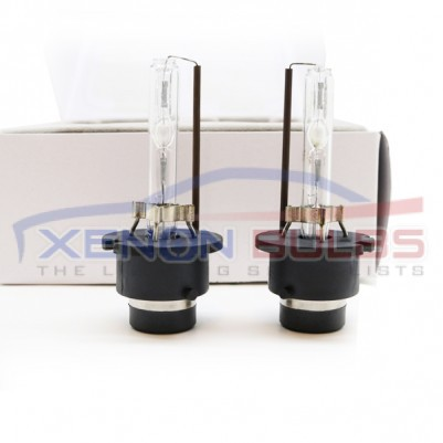 D2S XENON BULBS UPGRADE REPLACEMENT PAIR METAL CLAW TYPE