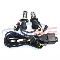H4-3 BI XENON HID BULBS HIGH LOW DUAL BEAM + Harness..