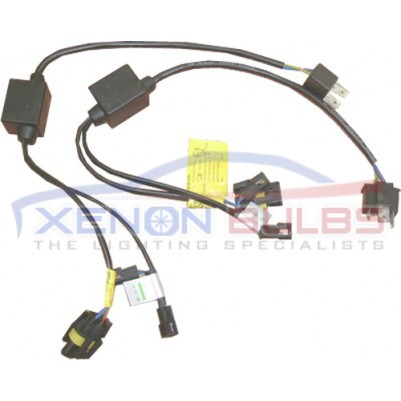 H4 HI LOW H4-3 RELAY WIRING HARNESS XENON HID CONVERSION KIT SINGLE CANBUS ERROR