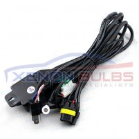 Wiring Harness H4 H/L XENON HID KIT Bi-Xenon Loom Car Relay Telescopic..
